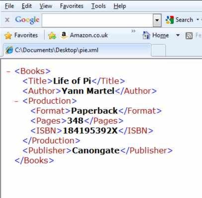 XML. How to Program