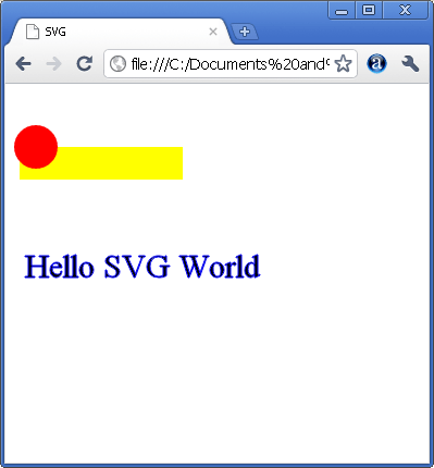 Getting Started With SVG