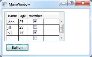 Using the WPF  NET 4 0 DataGrid