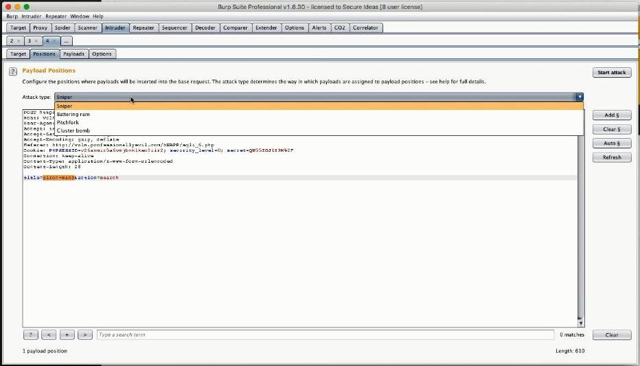 Tactical Pentesting With Burp Suite