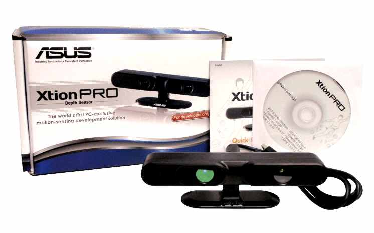 Asus Xtion Kinect clone available to developers