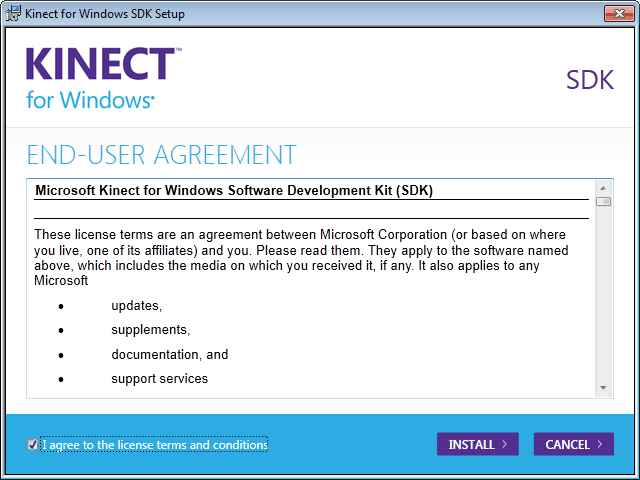 Kinect for Windows Available