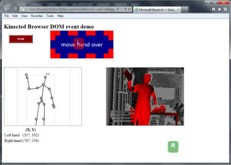 Kinected Browser - Kinect On The Web