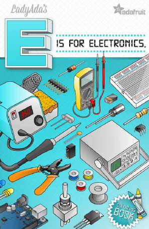E Is For Electronics Free Coloring Book