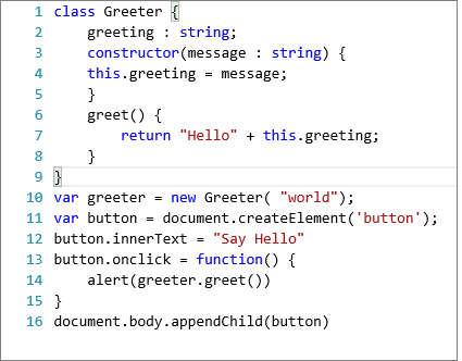 typescriptclassA