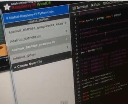 Web IDE The Easiest Way To Program Raspberry Pi