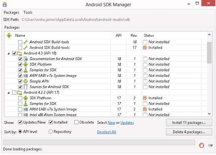 android43SDK