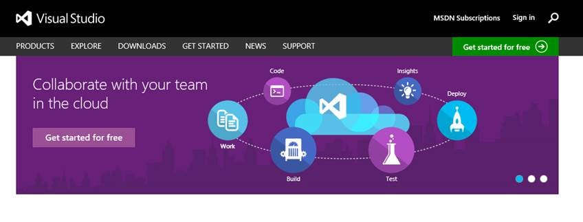 Visual Studio Goes Online - Cloud Based Cloud Development