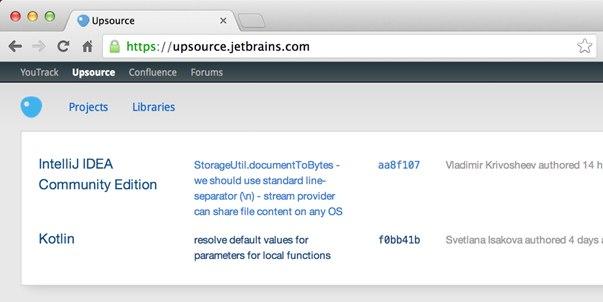 JetBrains Upsource
