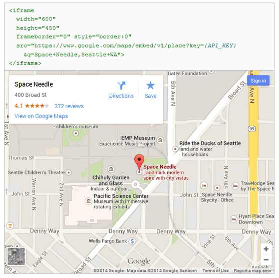 An Easy Way To Embed Google Maps