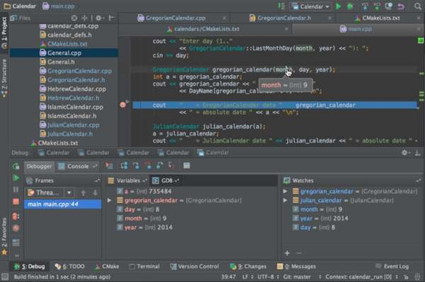 CLion – IDE for C/C++