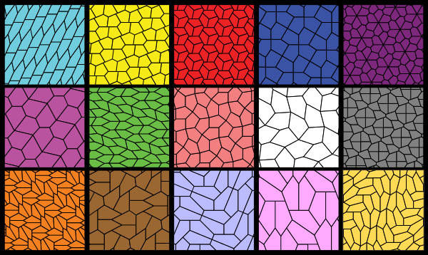 Pentagon Shaped Pattern On A Stone Floor Flooring : Computer finds new pentagonal tiling with some human help
