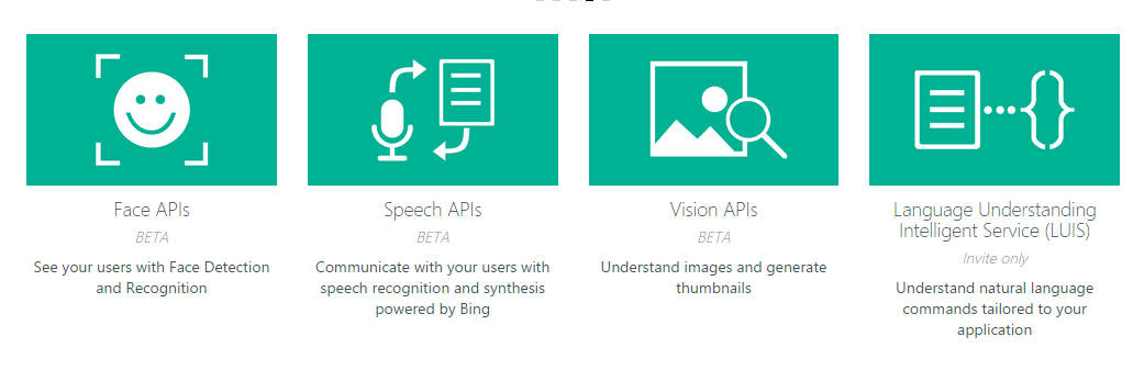 MIcrosoft's Project Oxford AI APIs For The REST Of Us