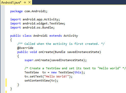 Visual Studio V Android Studio