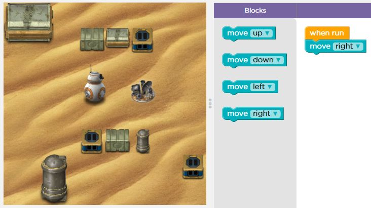 Star Wars For Hour Of Code