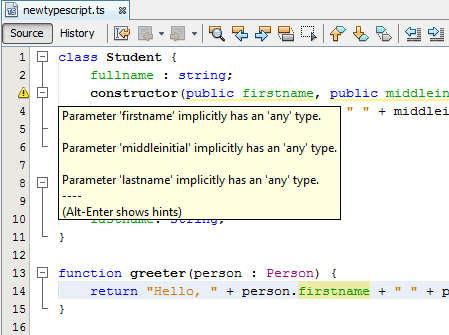 TypeScript On Netbeans
