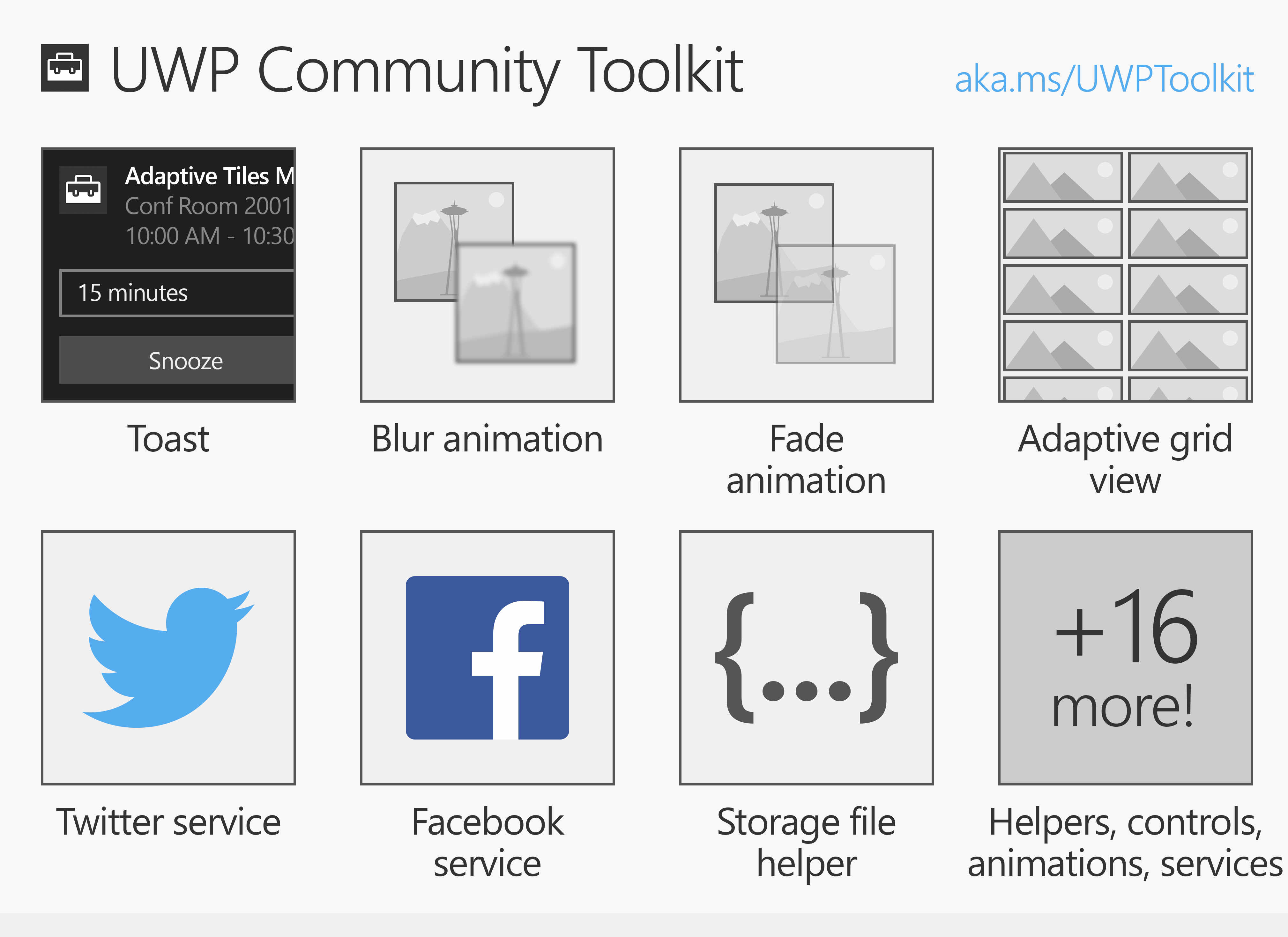 uwp community toolkit overview