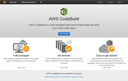 New Amazon Build Services