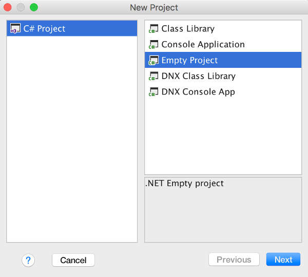 Project Rider A Cross Platform C# IDE