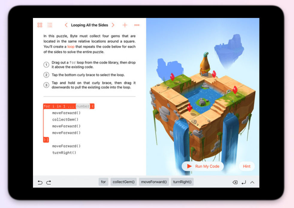 Apple coding app, everyone can code, iPhone coding, App Development, learn coding, SWIFT