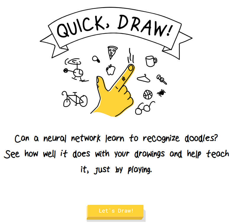 Play Google S Ai Drawing Guessing Game