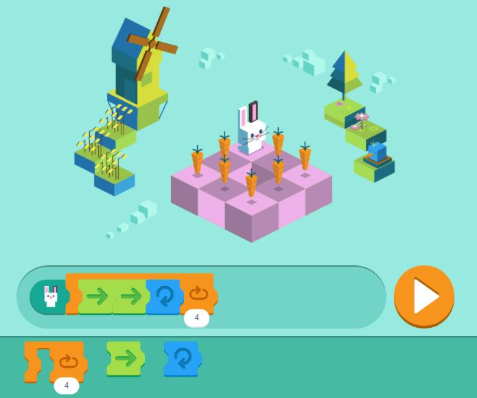 70fbb626d75e Coding for Carrots is the first ever coding Google Doodle and uses the  Scratch programming language. It has been created by the Google Doodle team  in ...