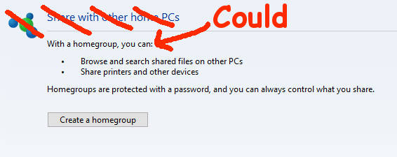 windows 10 homegroup removed why