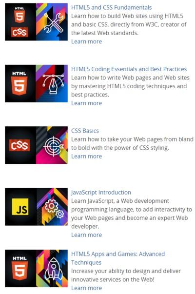 W3c Front End Web Developer Professional Certification On Edx