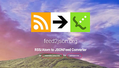 feed2json
