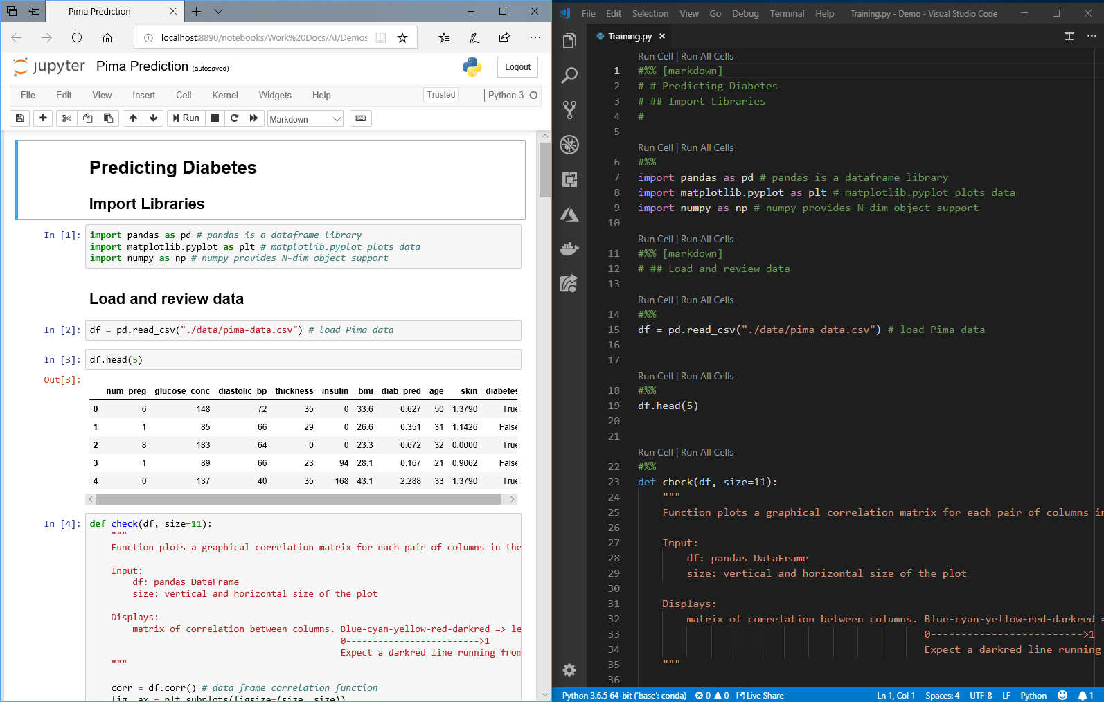 Visual Studio Code Python Gets Data Science Kit
