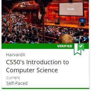 More CS50 Courses on edX