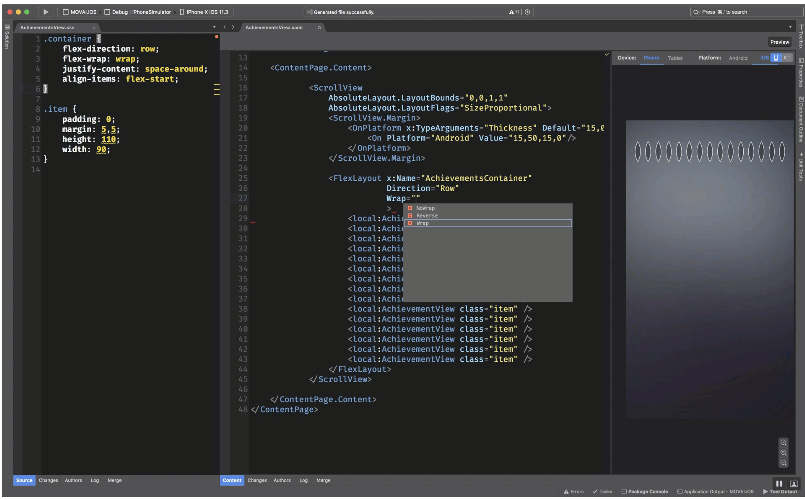 Xamarin Layout Manager