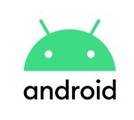 Android 10 - Dark Theme White Statue