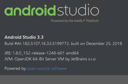 Android Studio 3 3 - Trying Harder?