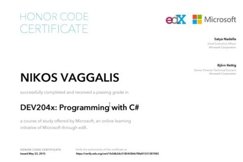 C# on edX - A Programmer\'s Review